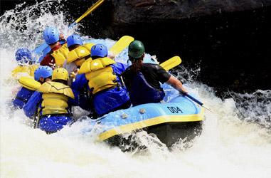 Rafting equipe